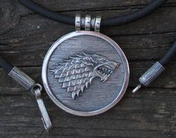 House Stark Wolf Medallion 3D print model