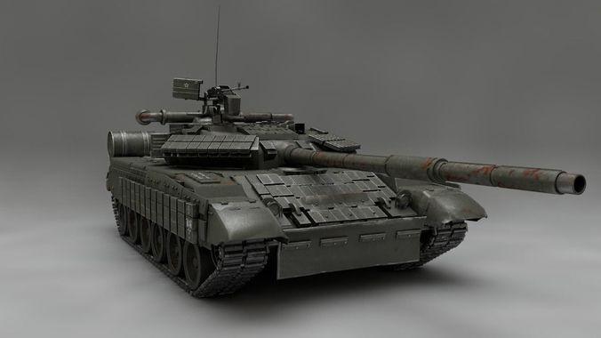 9b28139d5e07 MBT T-64 BV 3D model