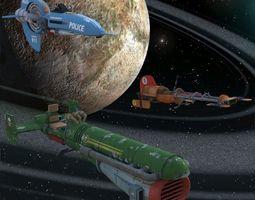 3D model Skylon Racers for DAZ Studio