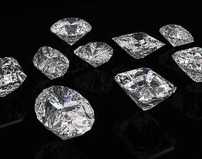 3D model Diamond Cuts
