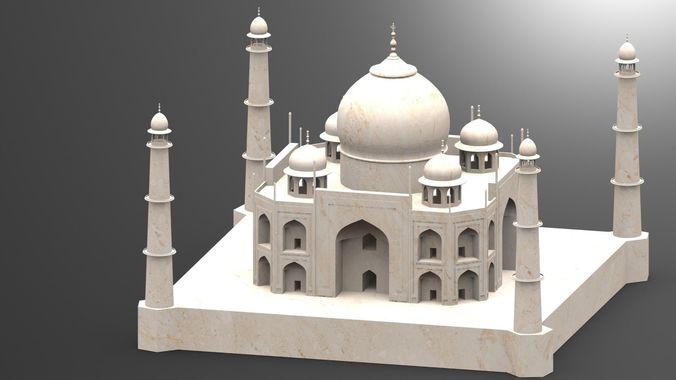 Taj Mahal 3d Image: 3D Printable Model 3dmodel TAJ MAHAL OF INDIA