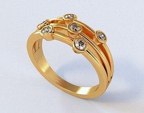 Mariage Rings 86 3D printable model