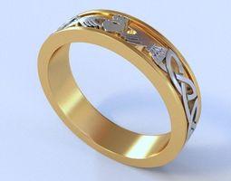3D print model Mariage Rings 109
