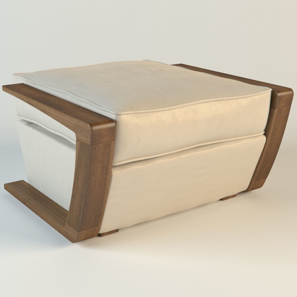 bark furniture armchair pouf