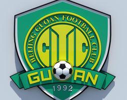 Beijing Guoan FC crest 3D model