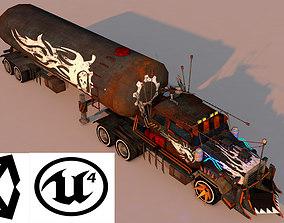 Battle Truck 3D asset