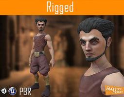 Character Elf 3D asset