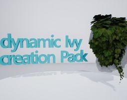 Ivy Creation Pack 3D model