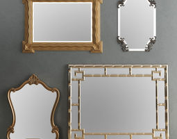 3D Mirror Collection Set 04