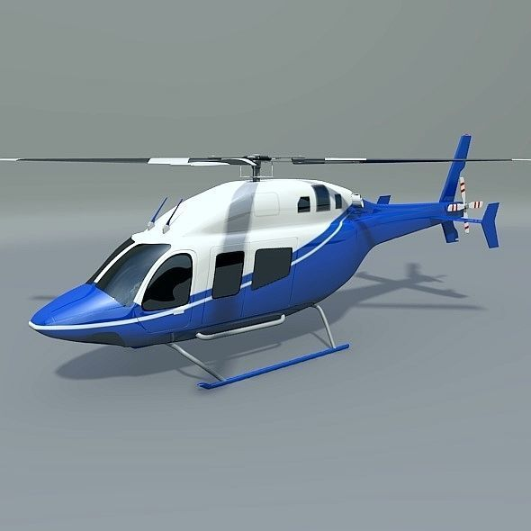 Bell 429 civilian helicopter