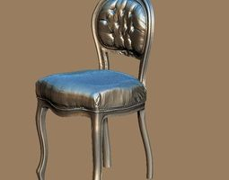Baroque chair 3D