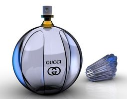 Perfume Bottle 3D gucci