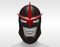 3D printable model Marvel Nova Helmet Sam
