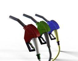 Petrol Pump Nozzle 3D