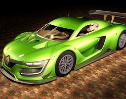 Renault Sport RS01 Track 3D