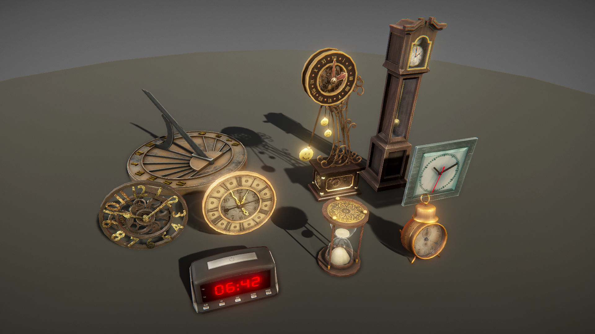 Clocks pack