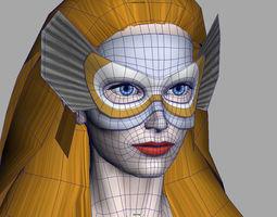 3D model Female Superhero