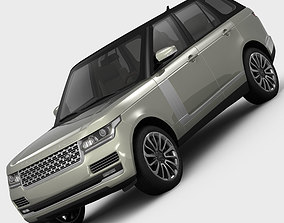 Range Rover Vogue L405 2013 3D model