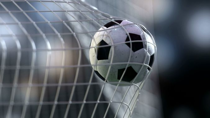 soccer ball flying into goal net - animated 3d scene vray 3d model animated max fbx 1