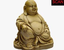 3D SCAN BUDDHA STATUE PBR