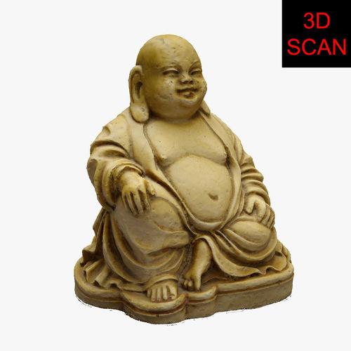 3d scan buddha statue 3d model max fbx 1