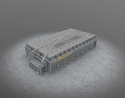 3D model EDDH Hangar 3