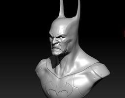 Batman Bust arkhem 3D printable model