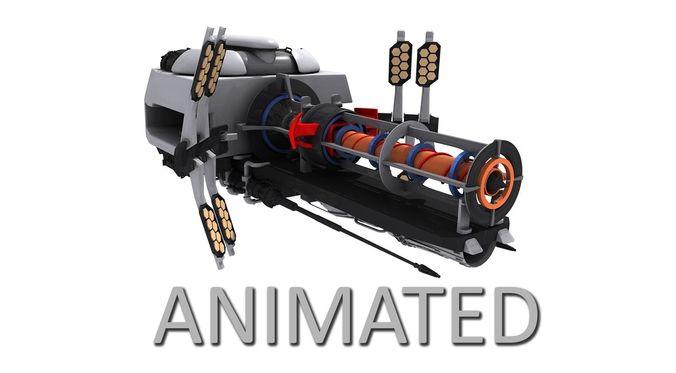 Sci-Fi Energy Gun