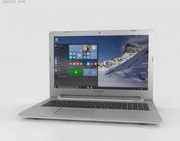3D model Lenovo IdeaPad 500 White