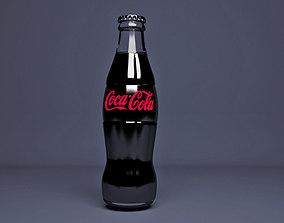 Coca Cola Zero Bottle - coke zero 3D