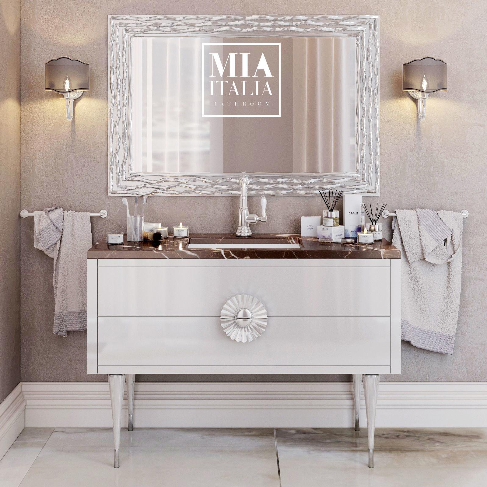 Exceptionnel Mia Italia Novesento Bathroom Furniture 3d Model Max Obj Mtl ...