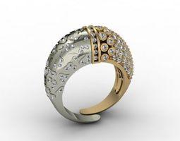 jewellery ring stone 3D printable model