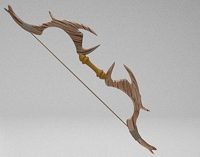 3D asset fantasy bow