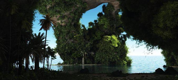 the hideaway in vue 3d model vue 1