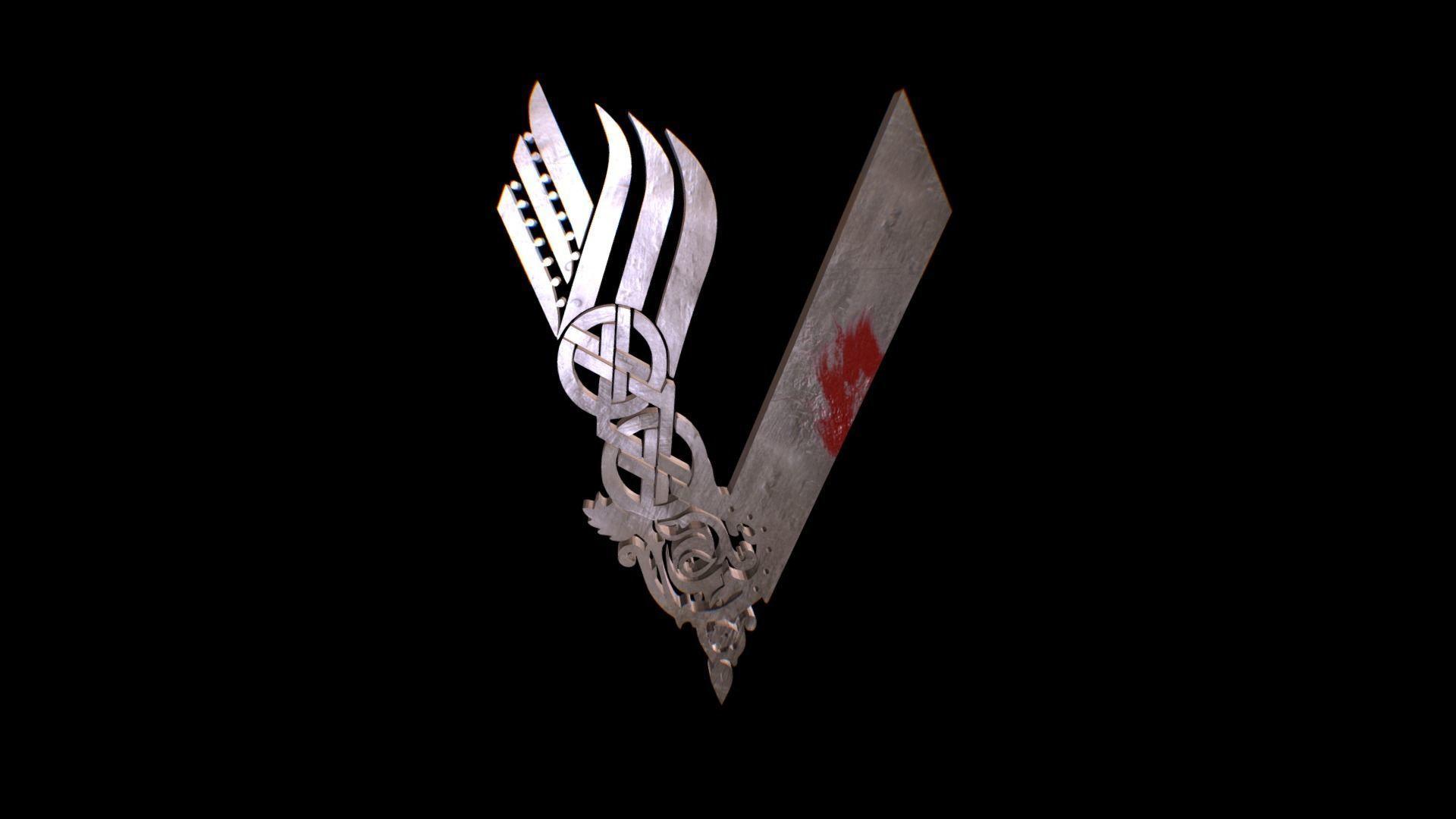 6be537b3 Vikings Logo | 3D model