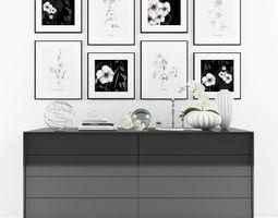 Decorative set-8 3D asset