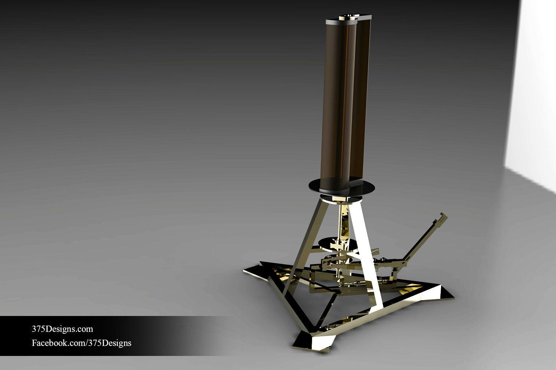 Savonius Wind Turbine 3D | CGTrader