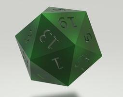 3D model Cool Dice
