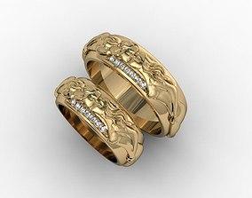jewellery ring love 3D printable model