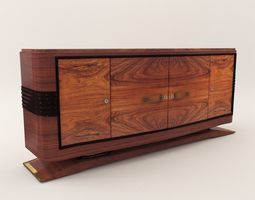 3D antique-furniture Sideboard - Art Deco 1920
