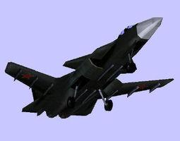 S37 Berkut 3D Model