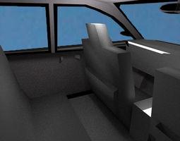 3D model Aa-03 Sedan Car MPV