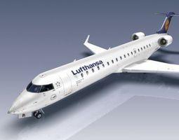 3D asset Bombardier CRJ700