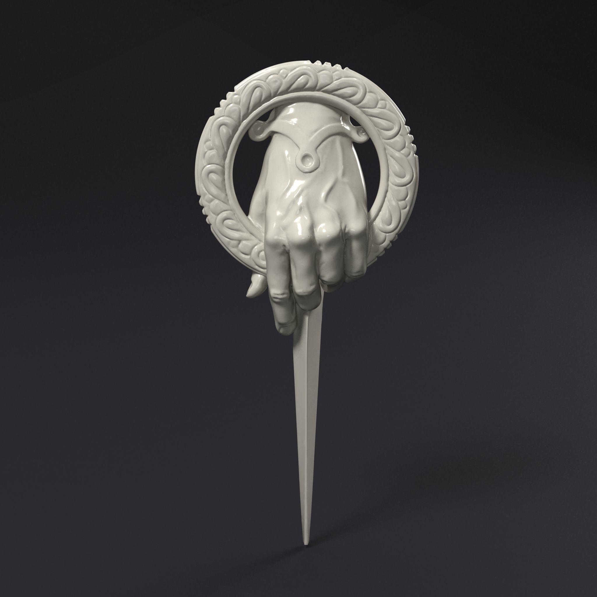 Kings Hand Badge