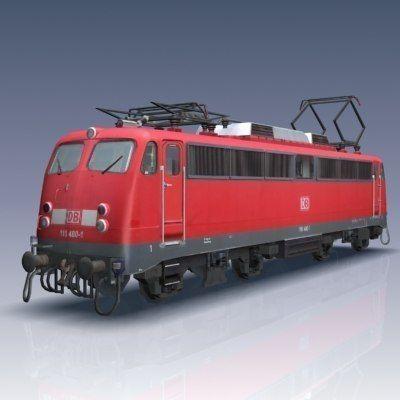 br 110 locomotive 3d model max obj mtl 3ds fbx lwo lw lws flt 1