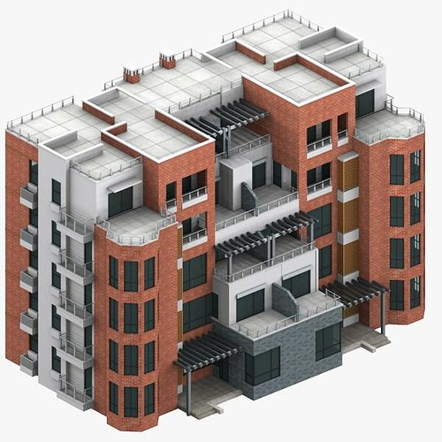 Apartment m2 007 3d model cgtrader for Apartment model
