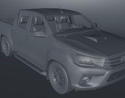 Toyota Hilux 3D model VR / AR ready