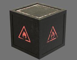 3D model Explosive box