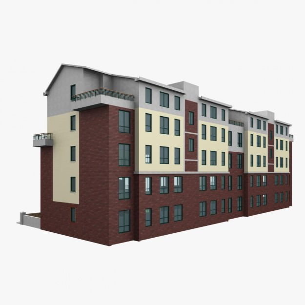 Apartment m2 019 3d model max obj 3ds for Apartment 3d model