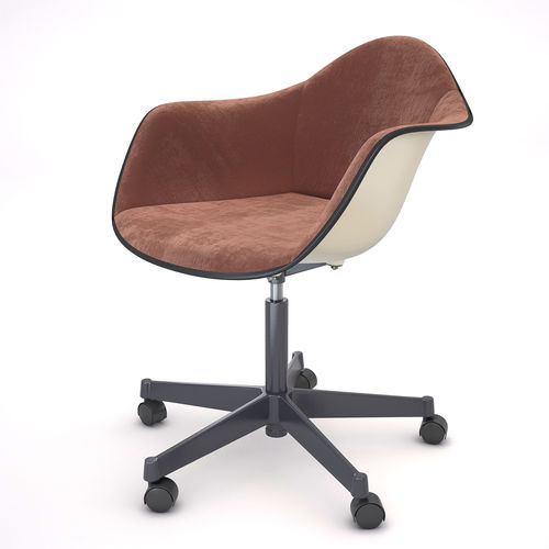 Charles Eames For Herman Miller Mid Century Chair 3D Model